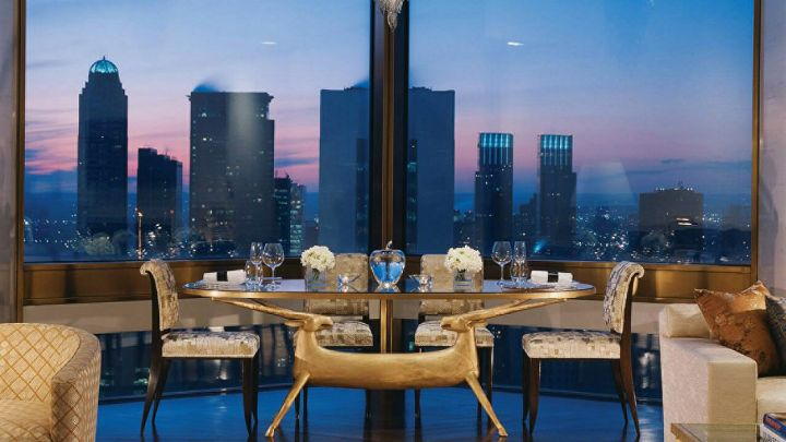 TY WARNER PENTHOUSE SUITE AT FOUR SEASON NEW YORK
