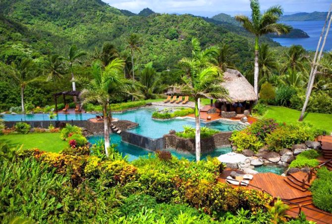 THE HILLTOP ESTATE OWNER'S ACCOMMODATION AT THE LAUCALA ISLAND RESORT