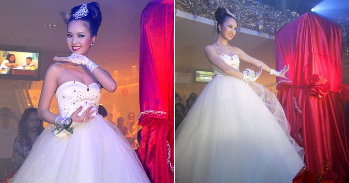 Bach Ngoc Xiem Y' Wedding Dress
