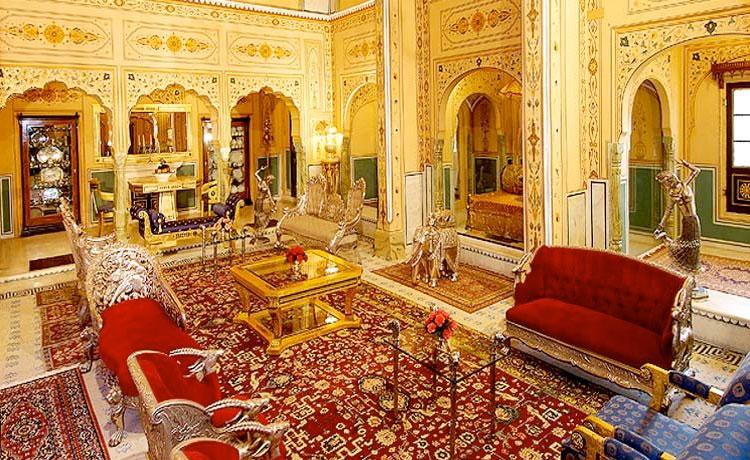 Shahi Mahal Suite At Raj Palace.