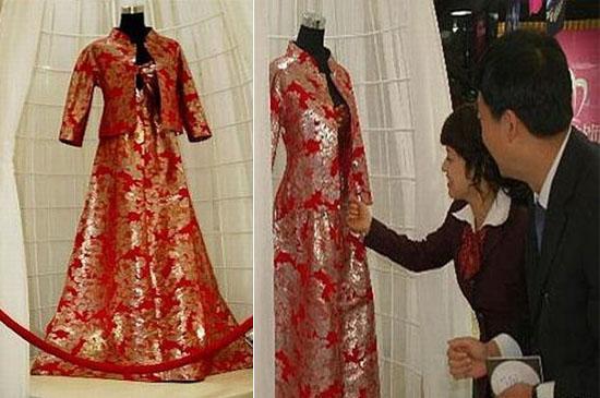 Platinum Wedding Dress