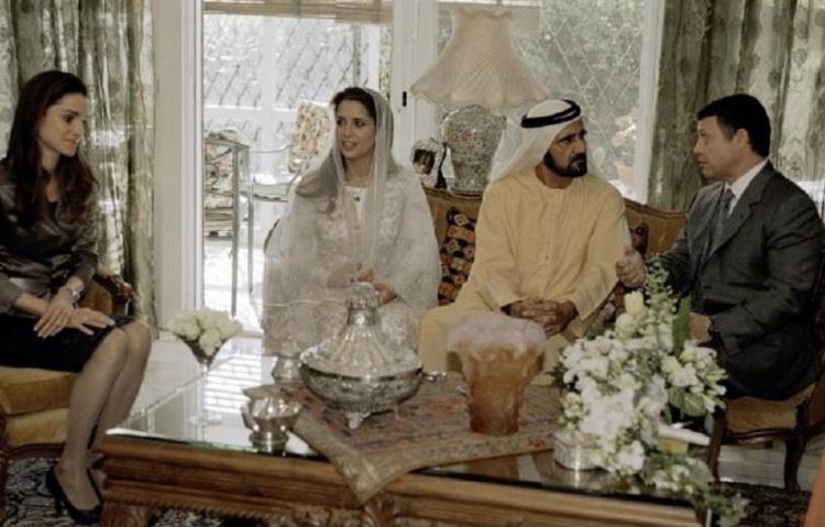 Sheikh Mohammed bin Rashid Al Maktoum & Princess Salama