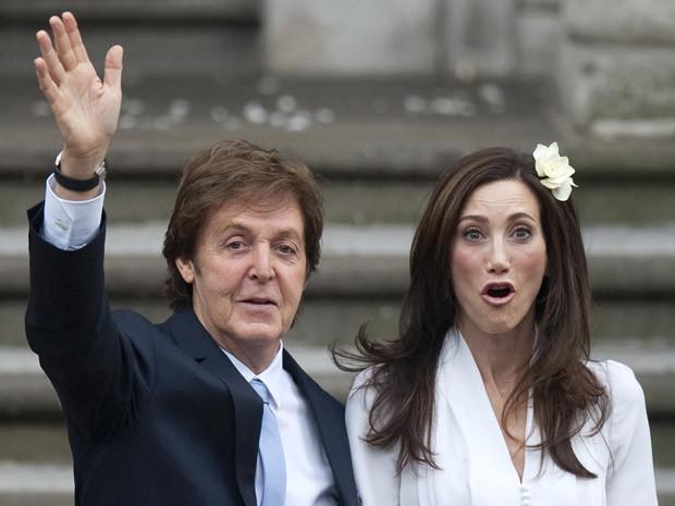 Paul McCartney & Heather Mills wedding