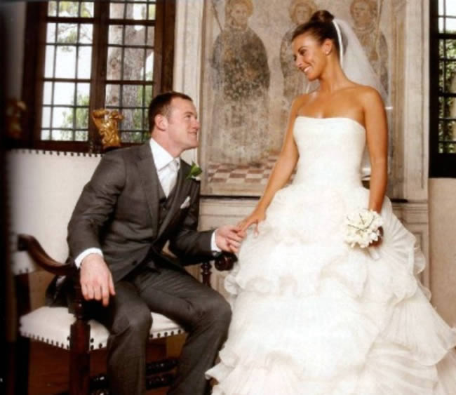 wayne rooney coleen mcloughlin wedding