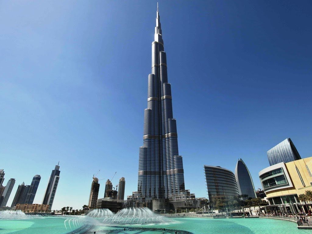 Tallest building in the world, Burj Khalifa