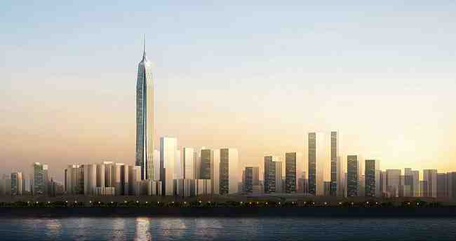 Tallest buildings in the world Pang, an international finance center