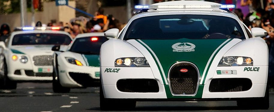 Expensive Police Car