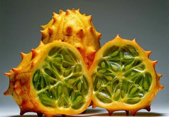 African Horned Cucumber rare Fruits