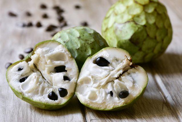 Rarest Fruits In The World. Cherimoya rare Fruits