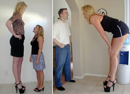 Top 10 Tallest Women In The World, Heather Greene is at no 10