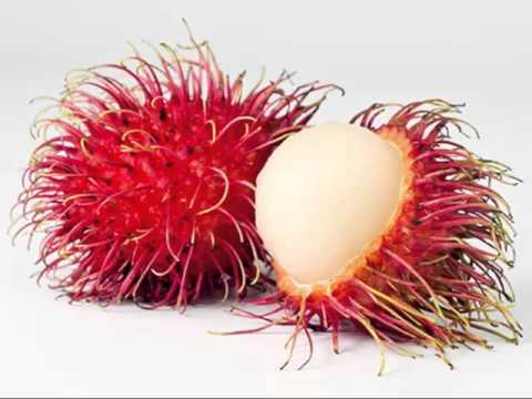 Rarest Fruit In The World. Rambutan rare fruits