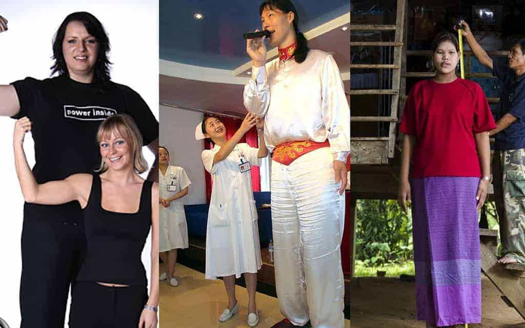 Top 10 Tallest Woman In The World