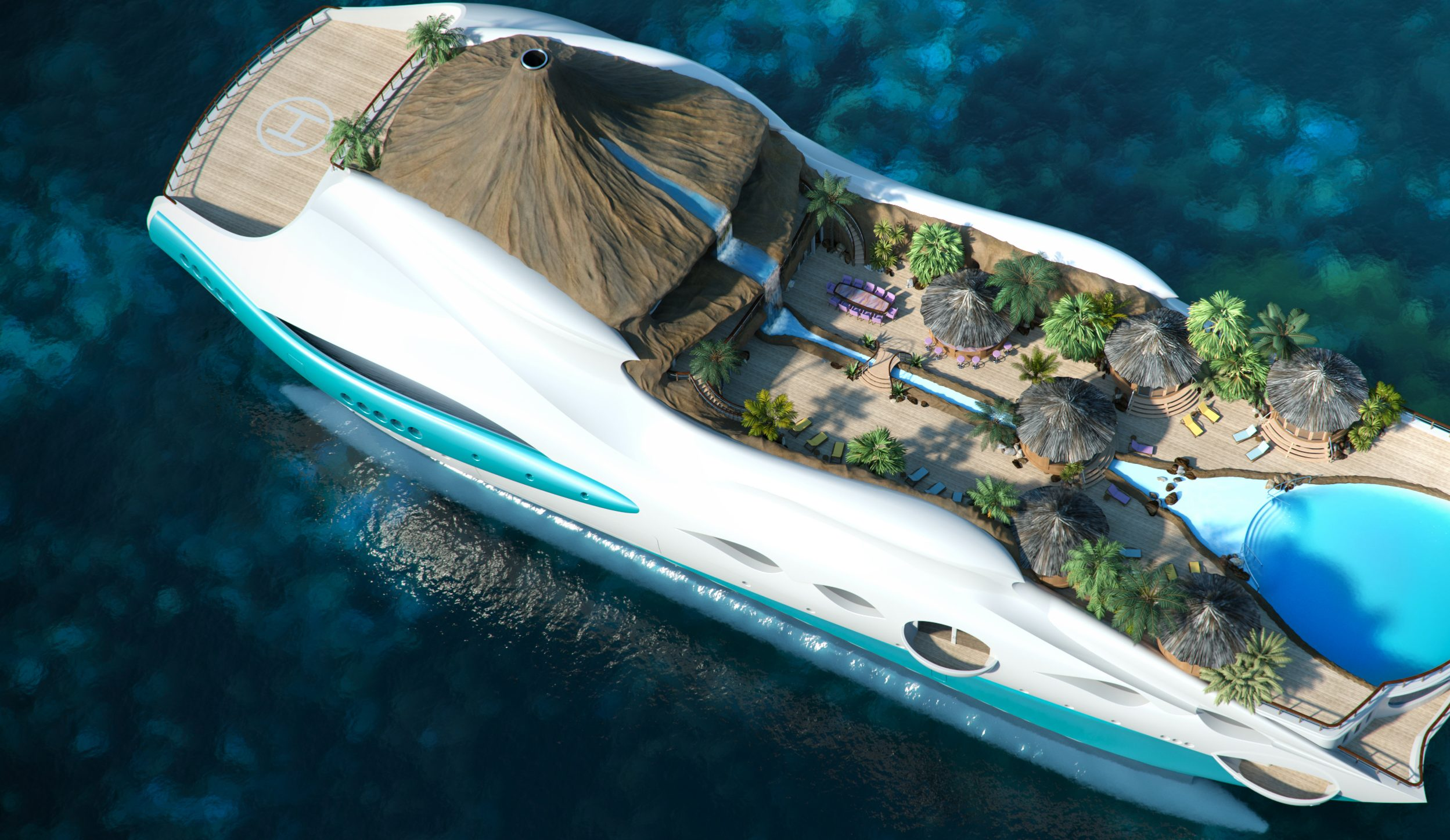 Photo of Top 7 Luxury Yachts With Awesome Features