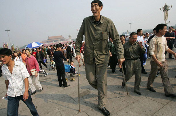 Top 10 Tallest Men In The World