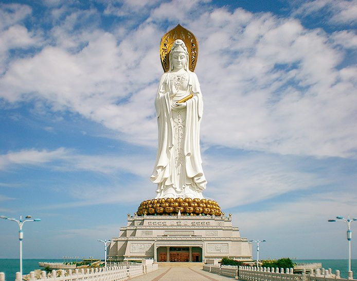 Top 10 Most Tallest Statues In The World Guanyin of Nanshan is at no 4
