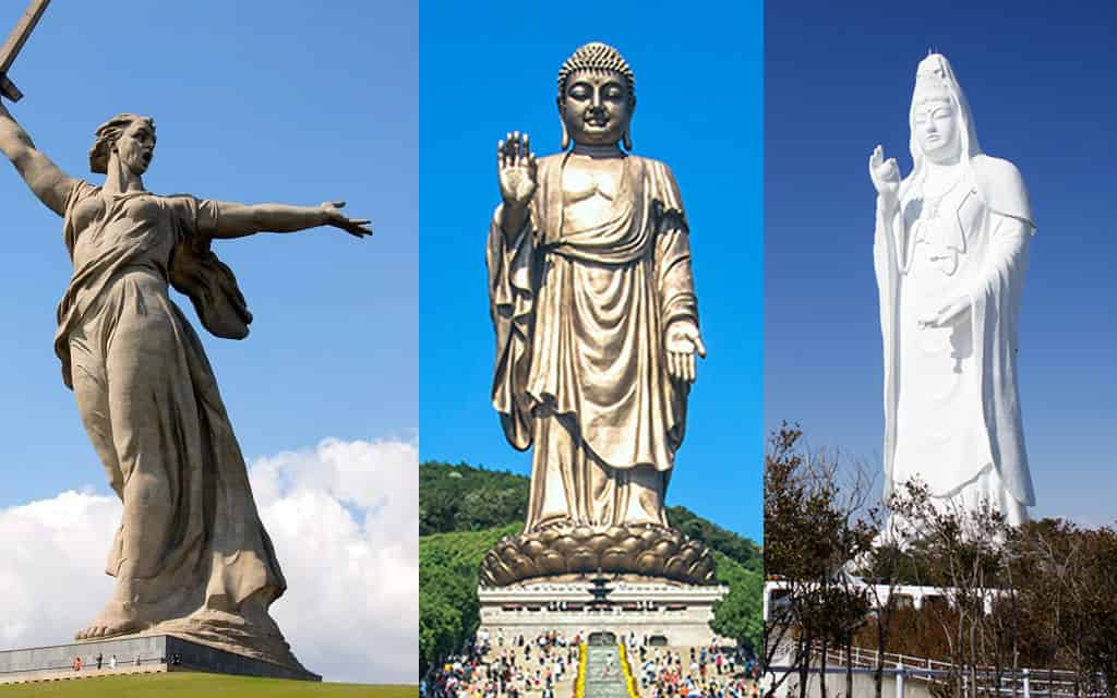 Top 10 Most Tallest Statues In The World