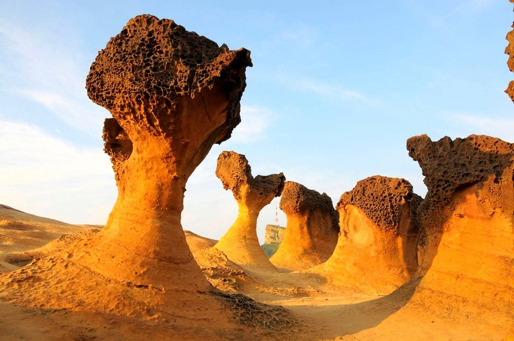 Rarest Rocks In The World, Mushroom rock