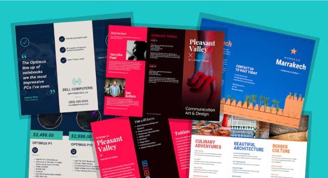 Top 5 Best Online Software For Brochure Design