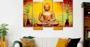 Buddha On Canvas Painting