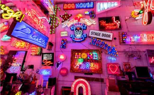 10 Most Iconic Neon Light Signs And Displays In The World