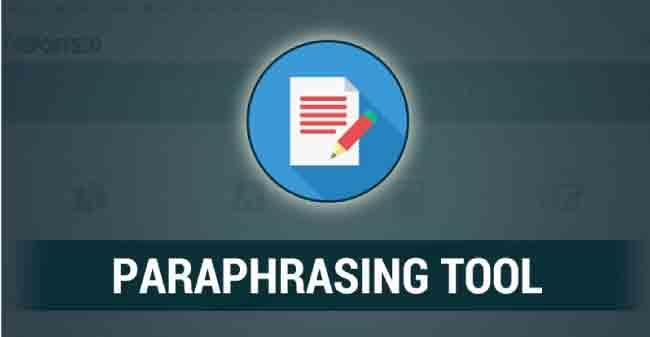 Using Internet-Based Paraphrasing Tools Online
